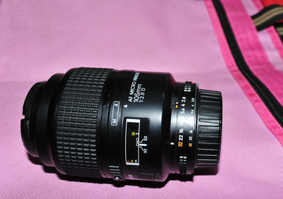 尼康 AF Micro Nikkor 105mm f/2.8D尼康105/2.8D 微距镜头老百微