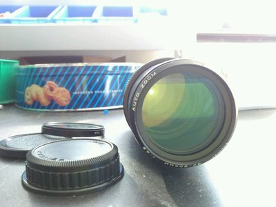 威达vivitar 80-200 f4.5镜头 PK口