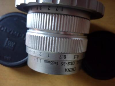 cctv 奥林巴斯 松下 4/3 m43 微单 c口 35mm 1.7