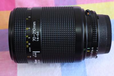尼康AF70-210/F4-5.6全画幅镜头