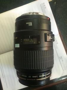 转让佳能老EF-100 2.8微距镜头