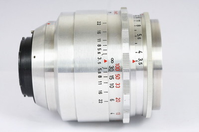 梅耶 Meyer Primotar 80/3.5 镜头 EXA口 德产