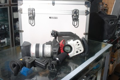 96新佳能 XL1 摄像机带箱子收藏成色(欢迎议价,支持交换)