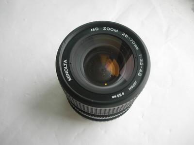 很新美能达28--70mm镜头,MD卡口,可转接各种数码相机