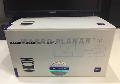 卡尔·蔡司 Planar T* 50mm f/2 ZF.2手动微距镜头