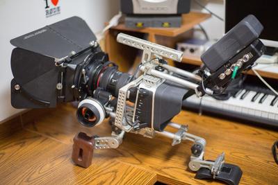 BMCC摄像机带套件达芬奇二手转让