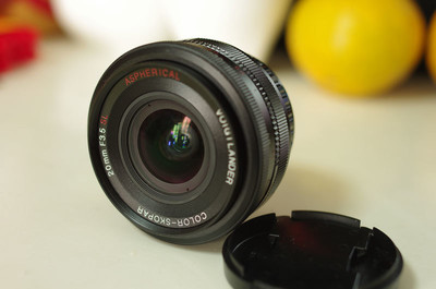 福伦达 COLOR SKOPAR 20mm f/3.5 SL  Asp(宾得口/PK口)