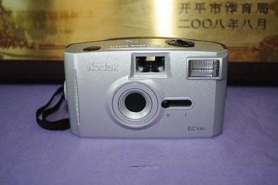 98新 Kodak 柯达 EC 100 傻瓜式 胶片相机 经典收藏 道具 模型