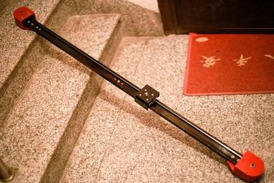 花爱娜滑轨 原价两千多1.2米摄像滑轨轨道