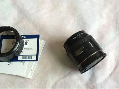 索尼 50mm f/1.4(SAL50F14) 行货充新