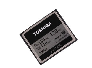 东芝 EXCERIA 1000X(128GB)/CF-128GTR8A