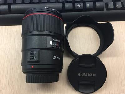 转10月刚入的佳能35mm f/1.4 ii usm镜头