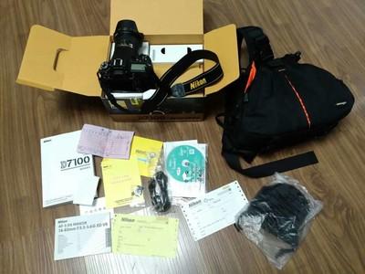 尼康 D7100+16-85mm 99新