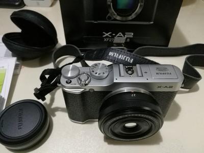富士X-A2微单电套(XF27)经典银