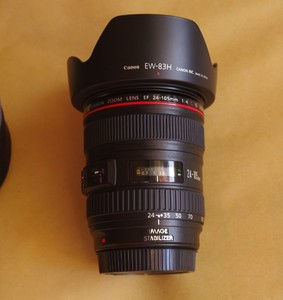 转让佳能 EF 24-105mm f/4L IS USM 99新
