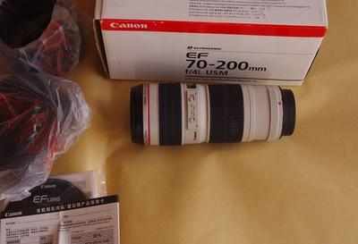 转让佳能 EF 70-200mm f/4L USM(小小白) 99新