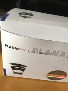 卡尔·蔡司 Planar T* 85mm f/1.4 ZF