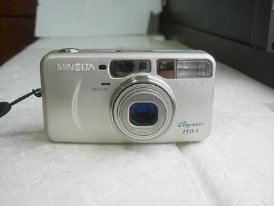 极新美能达150S袖珍相机,金属外壳,收藏使用