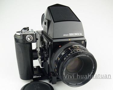BRONICA SQ-AI + PS 80 2.8 测光顶 快速手柄+135W 后背