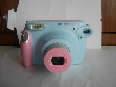 很新富士210漂亮的彩色一次成像相机,收藏使用
