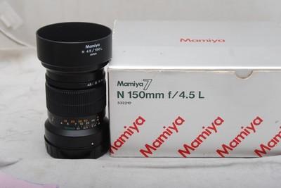 97新玛米亚7II用 150MM F4.5 带包装(欢迎议价,支持交换)