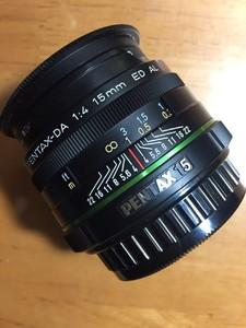 宾得 DA 15mm f/4 ED AL Limited