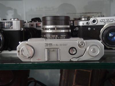 YASHICA35镜间快门50年代产品机身号3910497焦距45MMF2.8