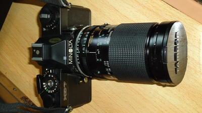 XD-7机身配腾龙28A28-135及腾龙百搭环