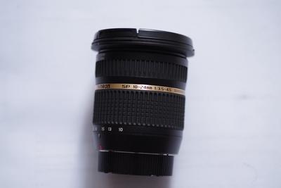 腾龙 SP AF10-24mm f/3.5-4.5 Di II LD  宾得卡口