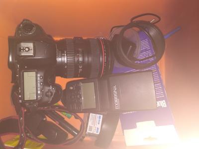 佳能 5D Mark III+24/105+YN568EXⅡ闪光灯