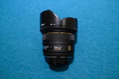 适马 50mm f/1.4 EX DG HSM(尼康卡口) 上海面交