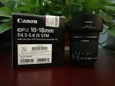 佳能 EF-S 10-18mm f/4.5-5.6 IS STM
