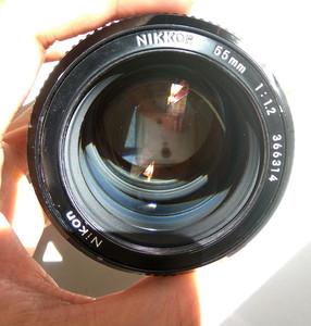 Nikon尼康夜之精灵NIKKOR 55 F1.2超大光圈手动标准镜头1988