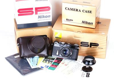 【全新】Nikon/尼康 SP limited 黑漆版35/1.8套机 #jp17621
