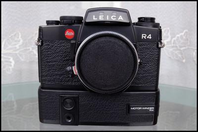 Leica R4机身+机身马达,全套特价!