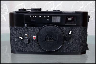 Leica M5 黑色机身,男人的徕卡!