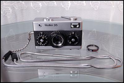 Rollei 35,带手带、UV,德产版!