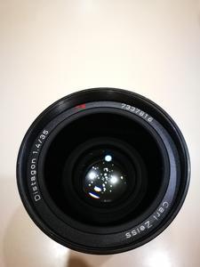 卡尔·蔡司 D 35mm f/1.4 MMJ,改尼康口