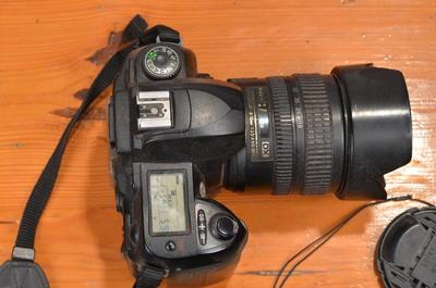 尼康 D70s17-70镜头