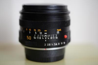 Leica Summicron-R 50 mm f/ 2.0 E55