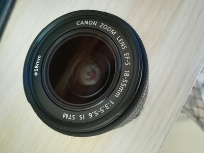99.99新!! 刚买一个月 的 佳能 EF-S 18-55mm f/3.5-5.6